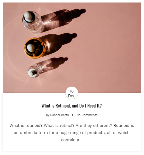 retinoid blog